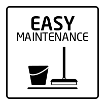 Easy maintenance